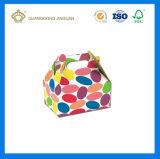 Custom Polka Dot E флейты гофрированного картона бумага Цветная Днгод ящики (Ручка ДНГОД)