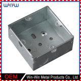 Boîte de jonction au sol électrique d'acier inoxydable de pièce jointe faite sur commande en métal
