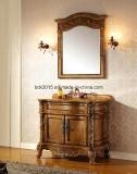 Шкаф ванной комнаты твердой древесины красного дуба Acient американский