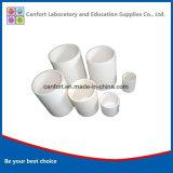 Équipement de laboratoire cylindriques creuset d'alumine, corindon creuset