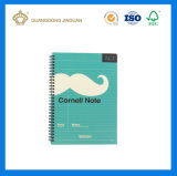 Cuaderno espiral impreso aduana de A4 A5 A6 PP (fábrica revisada SGS)