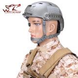 Il blu marino tattico BJ veloce designa il casco a prova di proiettile di Airsoft del casco del casco militare del motociclo del casco