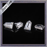 크기 환영 테이퍼 탄알 커트 Moissanite 주문을 받아서 만들어진 다이아몬드