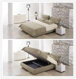Горячая самомоднейшая мягкая кровать 229 мебели спальни ткани кровати 2017