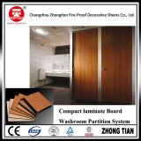 Interior comercial laminado compacto el cartón utilizado para el sistema de partición