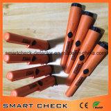 Orange Handmetalldetektor-Tiefbaumetalldetektor-Golddetektor
