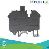 Tipo de fusible Bloque de terminales Jut1-10rd DINrail Montada Conector de cableado