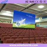 Painel de indicador Rental interno/ao ar livre do diodo emissor de luz da tela da cor cheia para a parede video que anuncia (P2.5, P3, P4, P5, P6, P8, P10 com o gabinete 576X576 de fundição)