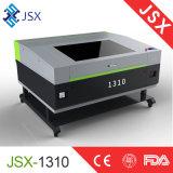 Acrylnichtmetall des vorstand-Jsx1310, das CO2 Laser-Stich-Ausschnitt-Maschine schnitzt
