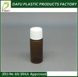 Bottiglia di plastica del liquido della radura dell'animale domestico del piccolo animale domestico 15ml