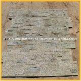 Естественный зеленый/серый камень культуры/плитки каменной стены культуры