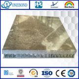 El panel de mármol decorativo de piedra del panal