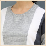 100% Cashmere Sweater mujer patrones circulares