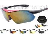 Soem-Anti-UVreitkomprimierende Glas-Sonnenbrillen für im Freiensport