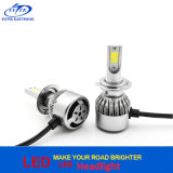 Tutti in una lampada dell'automobile del faro 6000k H7 LED della PANNOCCHIA LED di 36W 3800lm C6