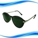 Estrutura metálica de PC preto Lente polarizada óculos de sol