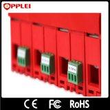 Protector de rayos de baja tensión de instalación en carril DIN de intercepción de sobrevoltaje
