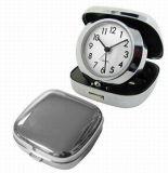 Horloge d'alarme de voyage en métal