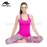 Pantaloni sexy di yoga delle donne delle ghette di compressione della maglia di usura di sport delle signore che eseguono gli indumenti comodi di ginnastica di usura di forma fisica dei vestiti