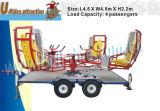 Mechanische Karussell Whirly Vogel-Unterhaltung reitet Spiel