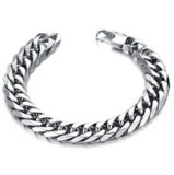 Fashion 316L Stainless Steel Chain Bracelet, Bike Chain Bracelet