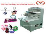 Máquina distribuidora automática da corrente chave do silicone