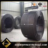 높은 장력 압축 응력을 받는 콘크리트 철강선