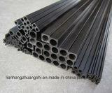 Fibra de carbono tubo cuadrado Pultruded