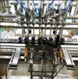 フルオートマチックの6つのノズルの高精度な天然水の充填機