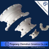 Quel di ceramica Partition Rings come Chemical Tower Packing (17~23% Al2O3)