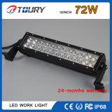 barre automatique tous terrains d'éclairage LED de lampe de barre du CREE DEL de 72W 4D 4X4