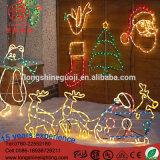 海の世界の休日のモチーフのクリスマスの漫画ライトのためのLED 3Dのくらげのクリスマスの装飾Lightiing