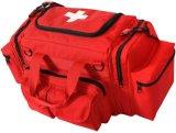 أحمر [إمت] [فيرست يد] طارئ يحمل حقيبة طبّيّ يخفى حقيبة