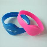 Wristbands della gomma di silicone di RFID per ginnastica