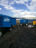 Compresseur d'air diesel portatif de Copco Liutech 500cfm 14bar d'atlas