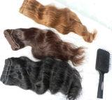 Мягкая шелковистая Virgin Индийского Реми человеческого волоса добавочный номер
