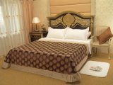 Постельные принадлежности тканья гостиницы