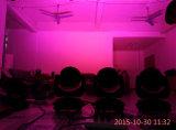 36*10W RGBW 4in1 LEDの移動ヘッドズームレンズの焦点機能の洗浄の効果ライト