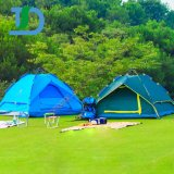 Hot Selling Pop Up Fashionable Style Double Layer Family Camping Tent