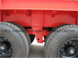 40FT Flatbed Semi Aanhangwagen van 2axle (voor de Markt van Mozambique)