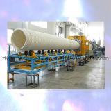 Производственная линия трубы из волнистого листового металла большого диаметра HDPE/PP/PVC Double-Wall