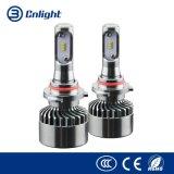 El coche ligero de encargo al por mayor LED de los kits de la buena calidad enciende la lámpara principal auto de encargo única H4 H7 de Cnlight LED del estilo del LED de la linterna de los bulbos LED del kit automotor de la linterna