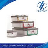 Système de conteneur rigide de stérilisation pour la mémoire d'instrument chirurgical, la stérilisation et le transport (séries de M)