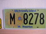 St. Maarten Nummerplaat, Nummerplaat, de Nummerplaat van de Auto