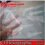 Papel tapiz de PVC de 4 colores máquina de impresión Flexo tipo tambor central