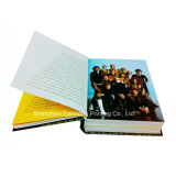 책 (OEM-HC021)를 인쇄하는 Casebound 오프셋 두꺼운 표지의 책