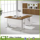 Tabela executiva em forma de L de mobília de escritório do CEO do projeto dos CF