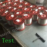 Alambre de acero revestido de cobre del cable para sobrecarga CCS/TC/cp para cable coaxial de frecuencia