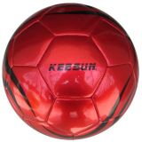 Met de machine genaaid met 32 Panels Laser pvc Football/Soccer Ball (SM5160)