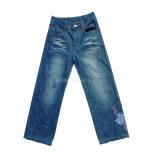 Kid's jeans de moda. 100% Algodón Denim Jeans para niños chica